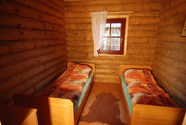 Dębina - domy z bali
