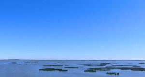 Jezioro Gardno - Kamienna wyspa
