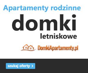 Domki letniskowe w Dębinie